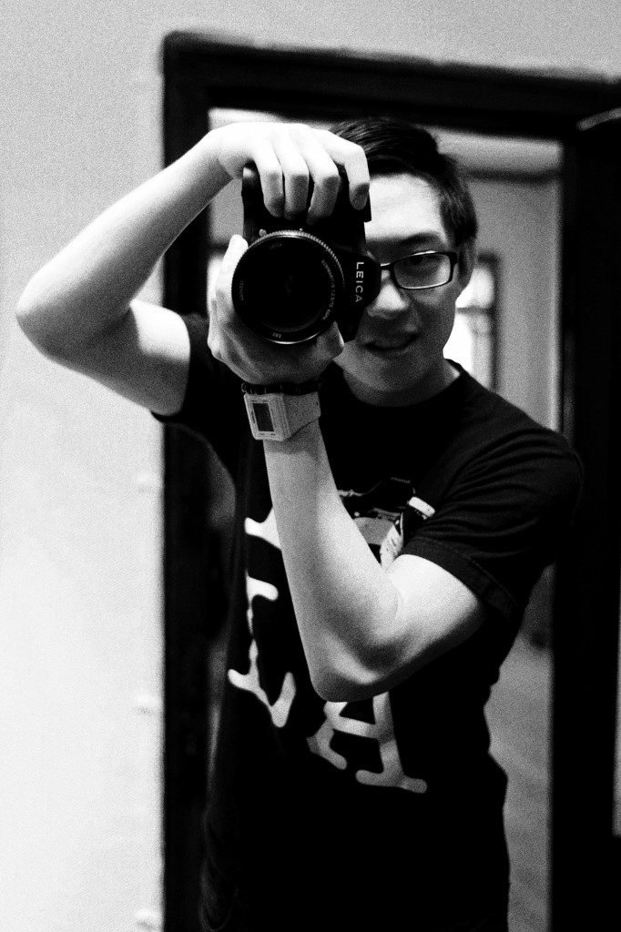 Eric Kim with the Leica S2