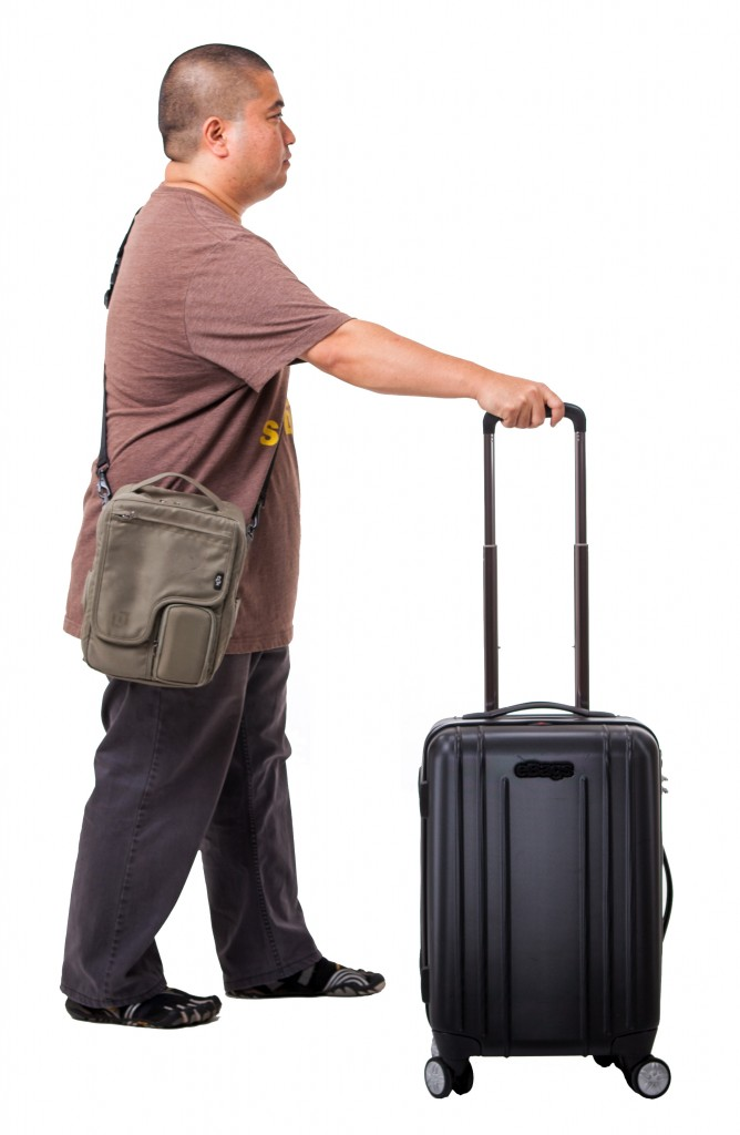 Clik Elite Traveler and eBags EXO Hardside Spinner Carry-On
