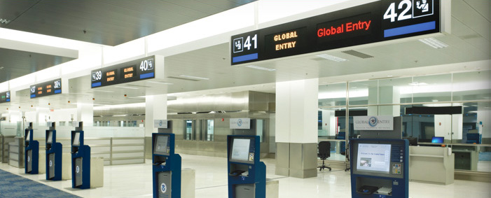 Global Entry (photo courtesy of American Airlines)