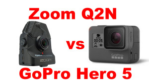 Zoom Q2N vs GoPro Hero 5 - Which Sounds Better?
